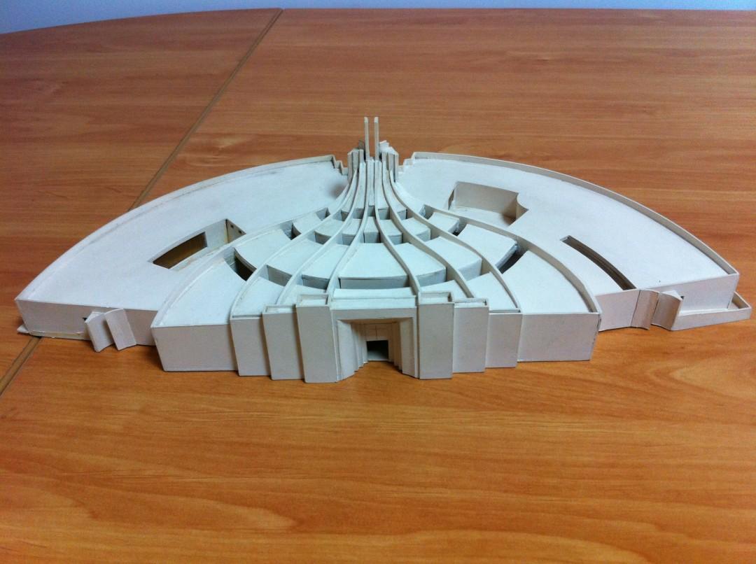 Plastico chiesa per concorso